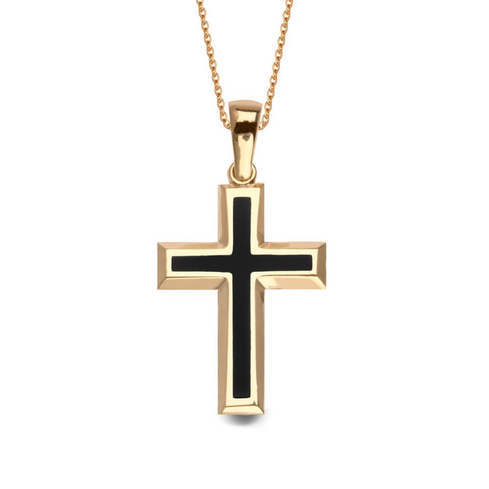 598f280410aff1 Złota Zawieszka Krzyżyk Verona YES Biżuteria LL14882. LL14882.jpg